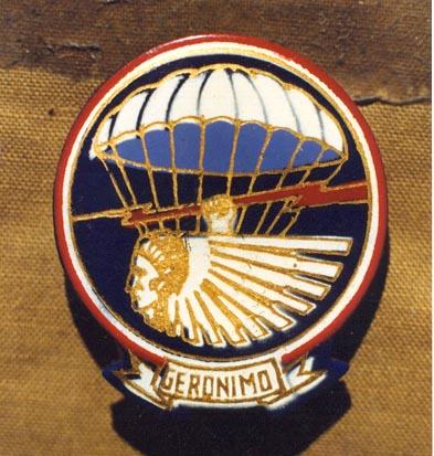 Regimental Crests for The Geronimo 501insig